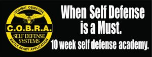 C.O.B.R.A. Self Defense Katy Texas